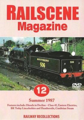 Railscene Magazine No.12 Dvd – Summer 1987