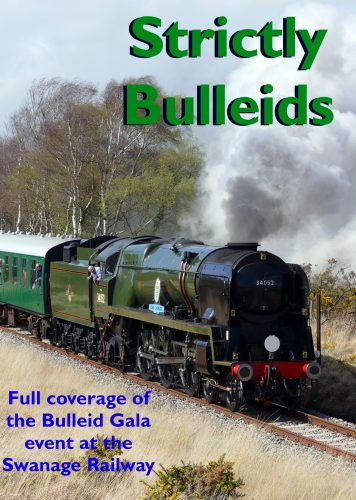'Strictly Bulleids' Full coverage of the 'Strictly Bulleid Gala' at the Swanage Railway in March. Action from the five Bulleid Pacifics along the whole line from Worgret to Swanage and use of Standard tank No. 80146 in and around Swanage station. Filmed and produced by Roger Hardingham. A perfect record of a perfect Gala.
