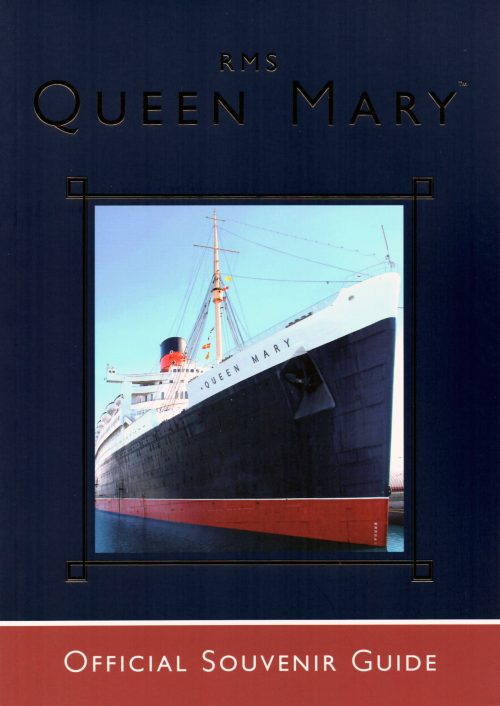 Official Guide book to RMS Queen Mary