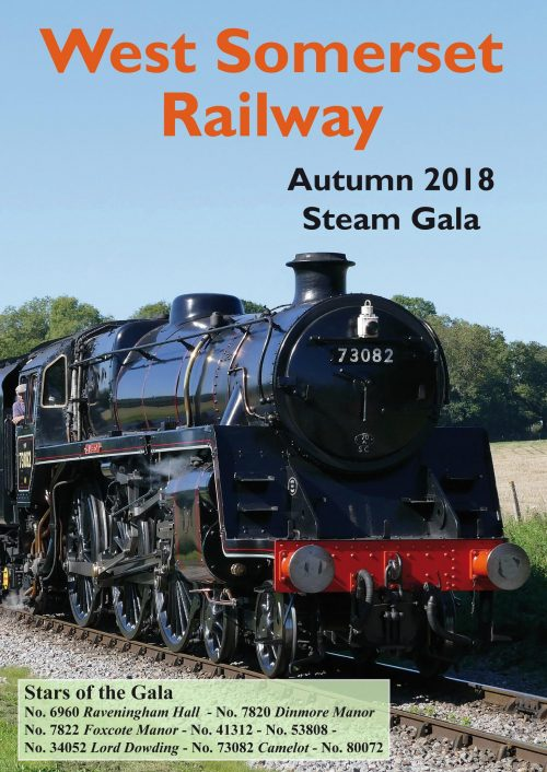 The West Somerset Railway Autumn 2018 Steam Gala