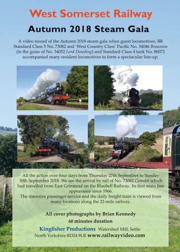 The West Somerset Railway Autumn 2018 Steam Gala